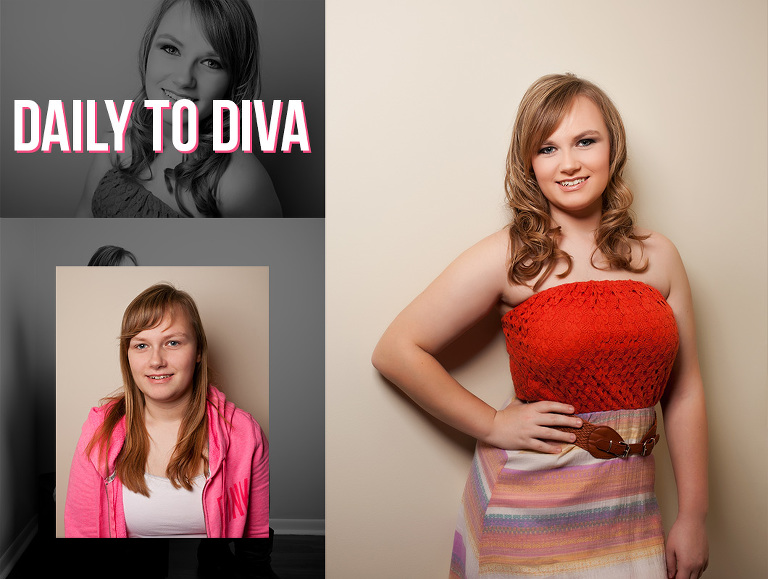 Daily to diva before and after transformation makeover