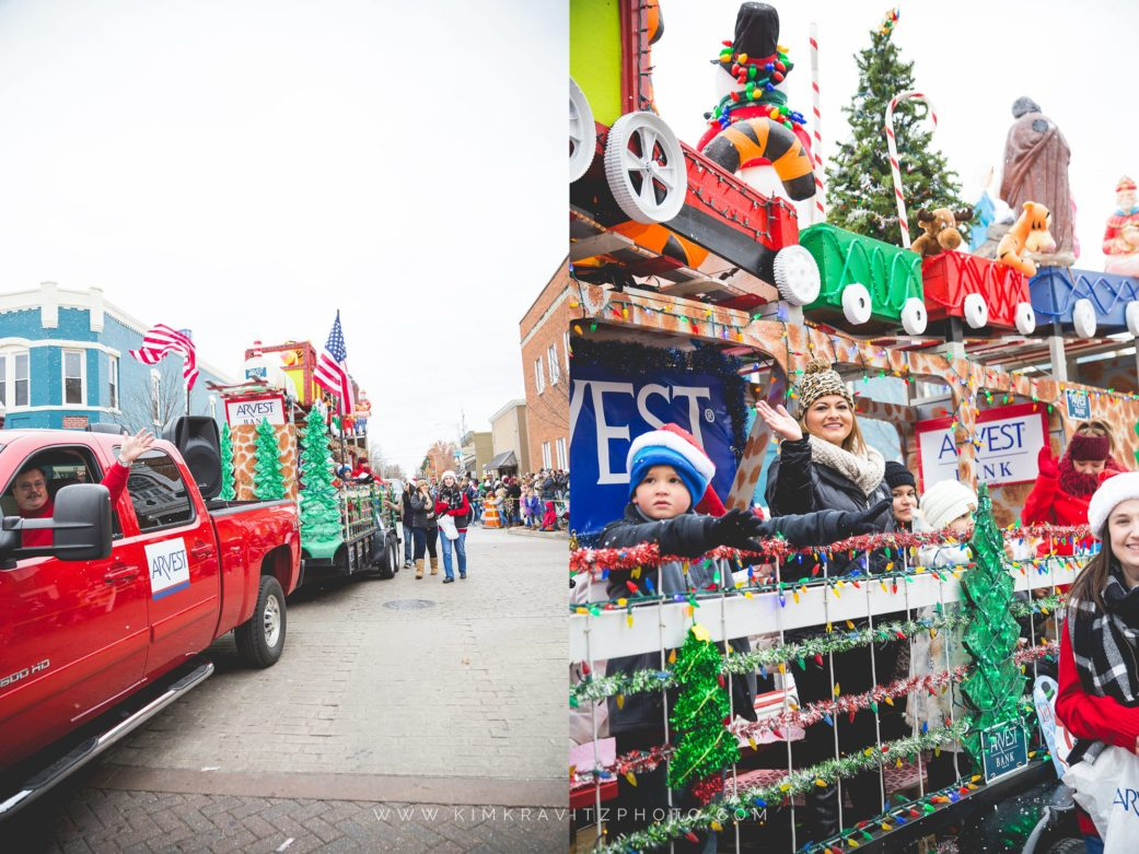 Bentonville, AR Christmas Parade | Event Photography by Kim