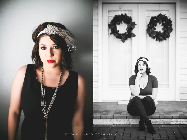 1920s inspired glamour photography in girard kansas