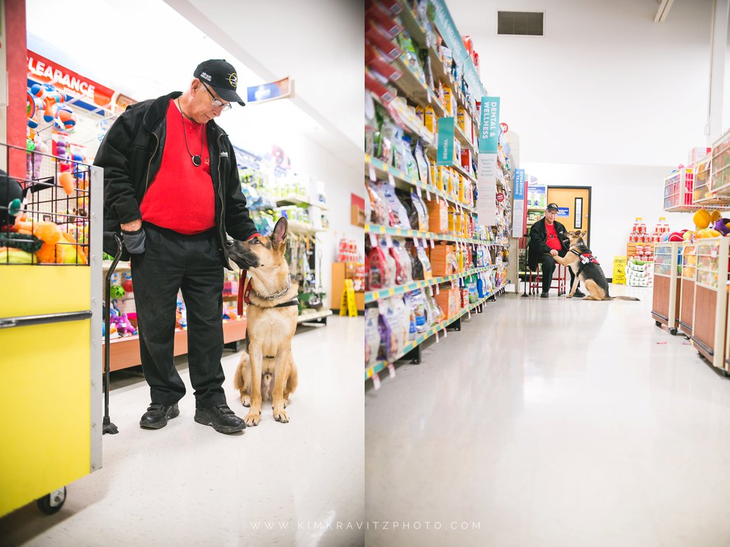 Solider On Service Dogs Field Trip To Pet Smart pet photography by kim kravitz