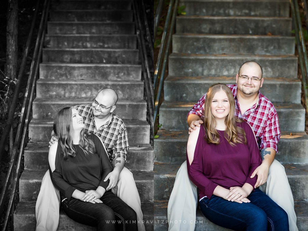 pittsburg, kansas engagement photography by kim kravitz