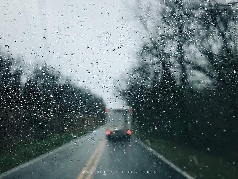 We moved to Southeast Kansas in the rain with a Uhaul truck