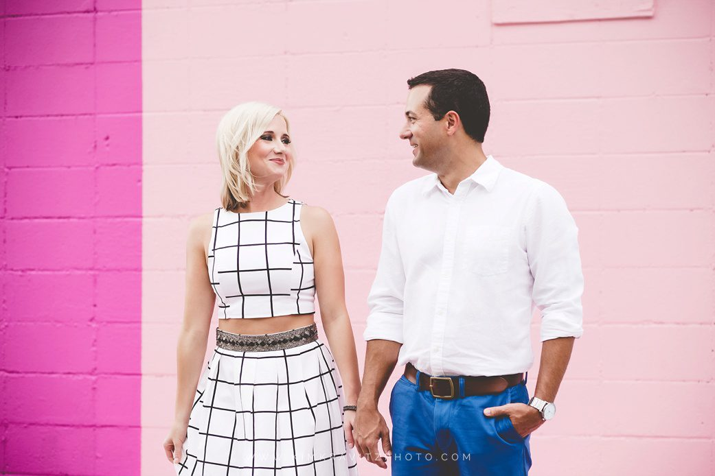 Engagement Pictures at the maude wall by kim kravitz