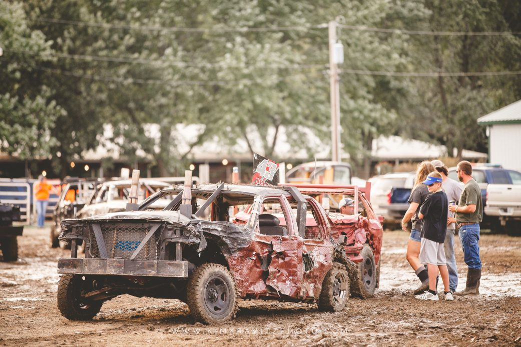 Crawford County Kansas Fair Demolition Derby Kim Kravitz