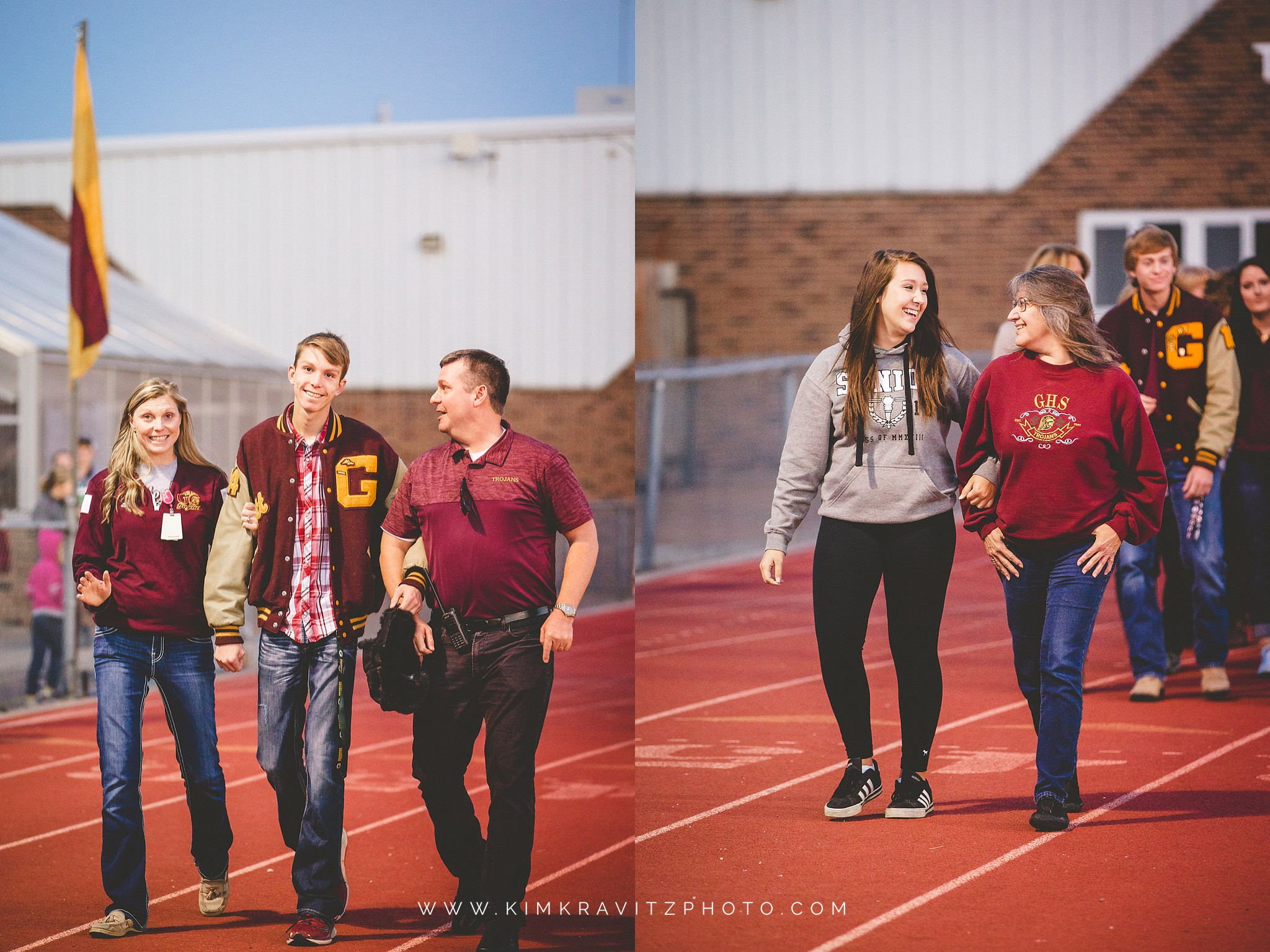 Girard Trojans vs Iola Mustangs Senior Night Kansas Football Kim Kravitz