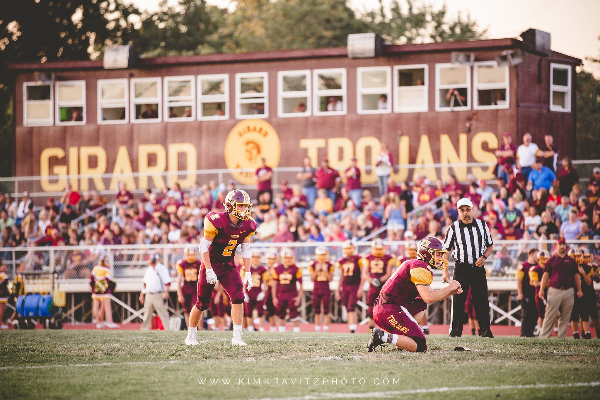 Girard Kansas High School Football 2017 by Kim Kravitz