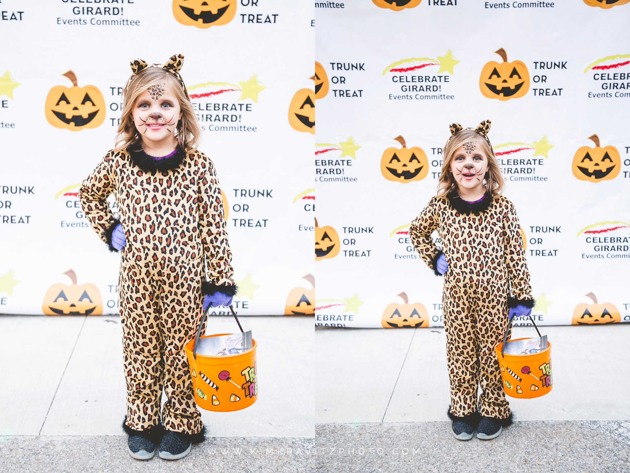 Celebrate Girard Halloween Step and Repeat Kim Kravitz